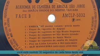 Lp Academia De Capoeira De Angola Mestre Caicara 1973