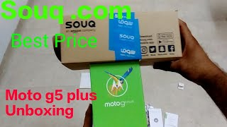 Moto G5 Plus Unboxing Best Price At Souq . Com