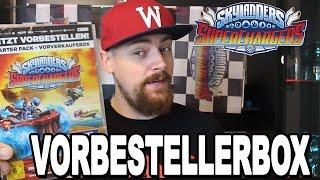Vorbestellerbox Skylanders SuperChargers - Mit Poster & Stickerbogen