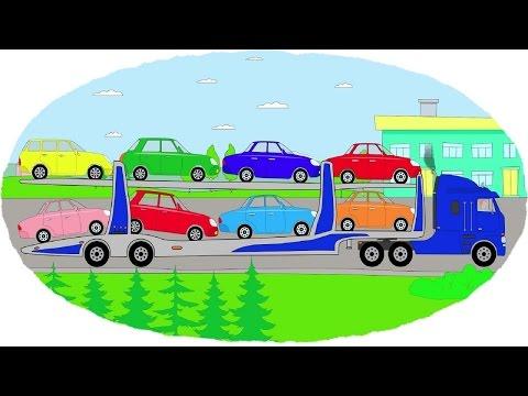 Машинки раскраски новые серии