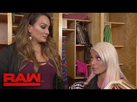Xxx Mp4 Nia Jax And Alexa Bliss React To The News That Asuka Is Coming To Team Red Raw Sept 11 2017 3gp Sex