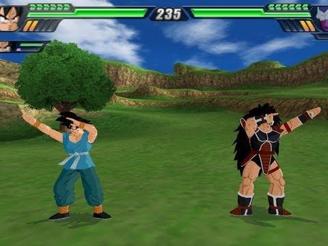 Goku and Raditz Fusion Dragon Ball Z Budokai Tenkaichi 3 Mod