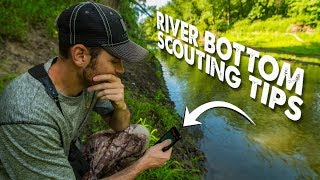 SCOUTING RIVER BOTTOM RUT STANDS! - The Hunting Public