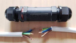 Kabelverbinder Wasserdicht verbinden verlängern Erdkabel reparieren Verbindungsbox Verbindungsmuffe