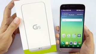 LG G5 Smartphone Unboxing & Overview (Indian Unit)