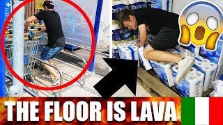 THE FLOOR IS LAVA CHALLENGE ITA 🇮🇹 - Funny Compilation #thefloorislavachallenge