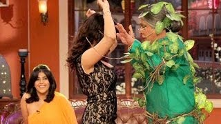 Sunny Leone SEDUCES DADI on Comedy Nights With Kapil 8th March 2014 Full Episode