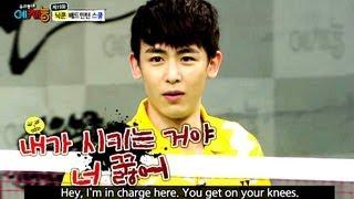 Cool Kiz on the Block | 우리동네 예체능 - Ep.14: Badminton School with 2PM (2013.07.23)