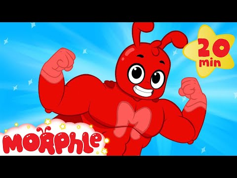 Super Hero Morphle and Mila Funny Superheroes videos for kids car truck and dinosaur cartoons
