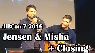 JIBCon 7 - Jensen & Misha Full Panel + Closing Ceremony