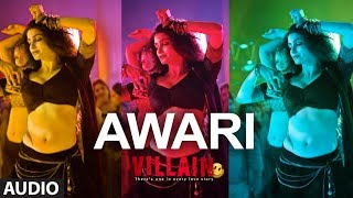 Awari Full Audio Song | Ek Villain | Sidharth Malhotra | Shraddha Kapoor