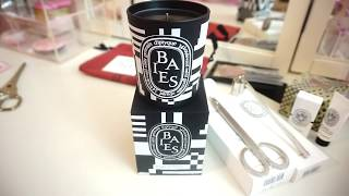 Diptyque Candle Haul & Review #baies #diptyque #luxcandles