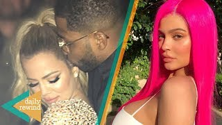 Khloe Kardashian FORGIVES Tristan, Kylie Jenner's Awkward Run In With Tyga At Coachella 2018 | DR