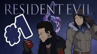 A Guy & A Girl play Co-op - Resident Evil 6 - Jake & Sherry Chapter 1