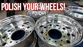 How to Polish and Buff your Aluminum Wheels to a Mirror Finish!