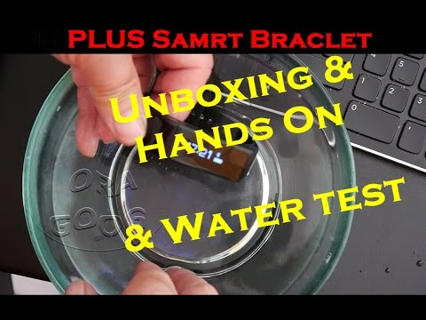 I5 PLUS Smart Bracelet  - Budget Fitbit Flex-  Unboxing & Hands-on &  Underwater test