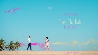 Shubhangi & Anmol | WeddingNama | Save The Date