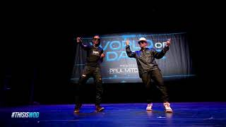 Nonstop & Poppin John   FrontRow   World of Dance 2017   #WODATL17