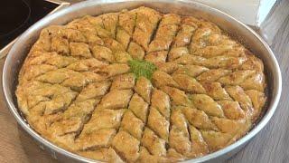 Cevizli Ev Baklavasinin Tarifi(Tereyagli enfes bir lezzet)-Hatice Mazi