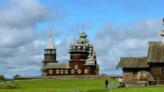 Kizhi Island time-Lapse, Russian Karelia