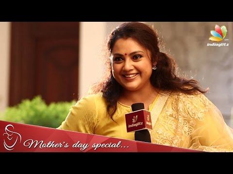 Nainika changed my behaviour - Meena Interview | Mothers Day Special