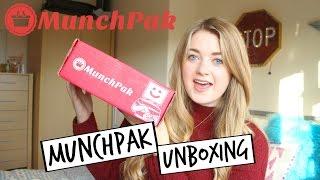 MunchPak Unboxing | Emily Steele