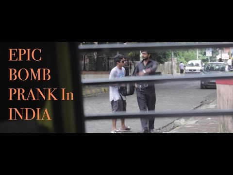 Scary Prank In India | Epic Bomb Prank in INDIA | Super Desi Pranks