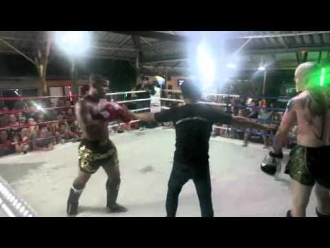 BBQ Beatdown 49 Muay Thai smoker fight Tiger Muay Thai