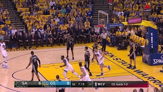 Quarter 1 One Box Video :Warriors Vs. Spurs, 5/16/2017 12:00:00 AM