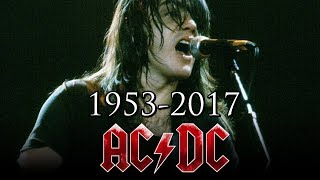 ADIÓS MALCOLM YOUNG 1953-2017 | AC/DC