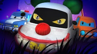 Road Rangers | Clownjuring Returns | Scary Nursery Rhymes | Kindergarten Videos by Kids Channel