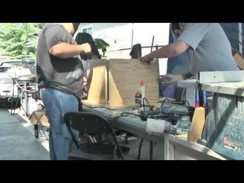 Building a basic DJ box frame