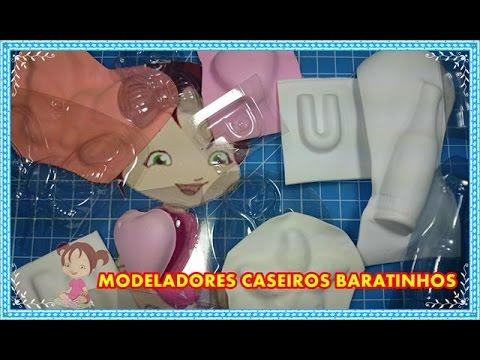 COMO FAZER MODELADORES CASEIROS BARATINHOS
