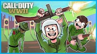 Call of Duty: World War II Funny Moments! - Emote Glitches Fun, Bomb Plant Glitch, Ninja Defuses!