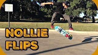Skate Hacks: How to Nollie Flip Easier