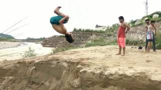 Indian Parkour and Free Running - Mohit Sharma