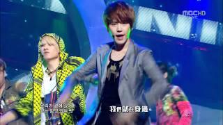 [HD]110806 SJ Comeback Stage - Superman & Mr. Simple (Chin Sub)