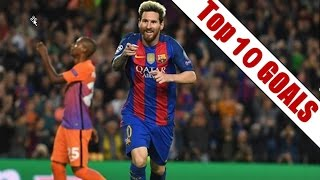Top 10 Goals | Week 3, Champions League | 2016-2017 Season