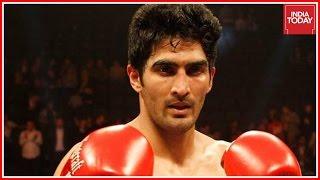 Vijender Singh To Fight British Boxer Amir Khan