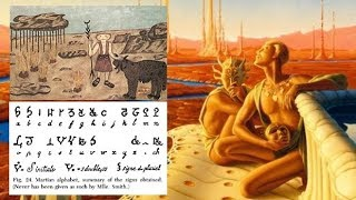 Woman 'visited MARS in 1894 in first alien contact and made THESE shocking drawings'