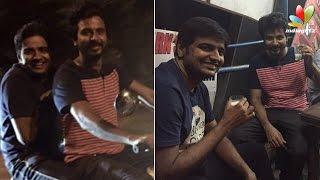Midnight  Bike Ride  with SivaKarthikeyan - Sathish's spine chilling experience | Hot Cinema News