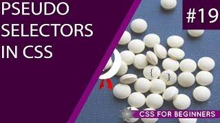 CSS Tutorial For Beginners 19 - Pseudo Selectors