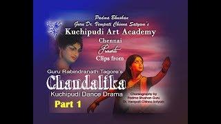Kuchipudi Art Academy's Chandalika Kuchipudi Dance Drama Spl clips.