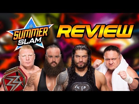WWE Summerslam 2017 Review | Wrestling With Wregret