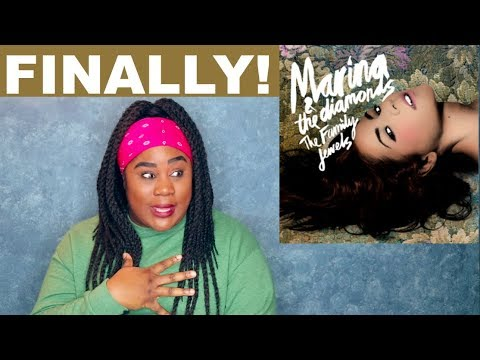Marina and the Diamonds - The Family Jewels  REACTION 
