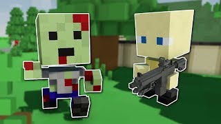 Voxel Zombie Survival! - Crafting Dead Gameplay - Standalone Early Access & Quick Look