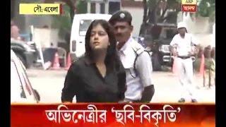 Bangladesh website allegedly publishes false news about Bengali actress Madhumita Chakrabo