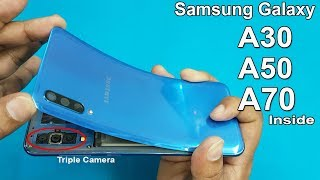 How to Open Samsung A50 / A70  Back Panel || Samsung A50 Disassembly || Samsung Galaxy A50 Teardown