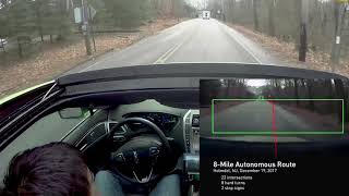 NVIDIA 8 Mile Autonomous Drive