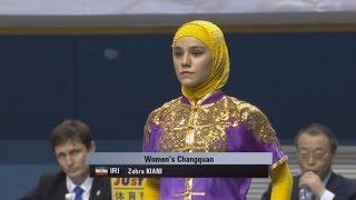 1st Taolu World Cup - Zahra Kiani (IRI) - Women